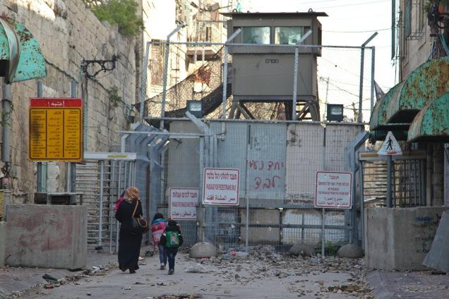 tel-rumeida-checkpoint