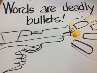 guns=words