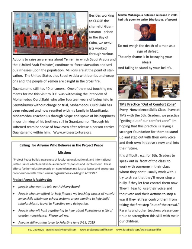 march newsletter 20192jpg